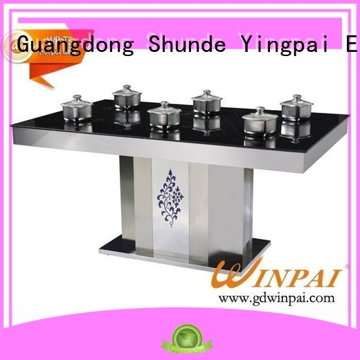 WINPAI high efficiency hot pot plate supplier for star hotel