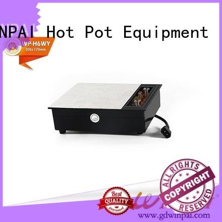 WINPAI smokeless hot pot cooker supplier for indoor
