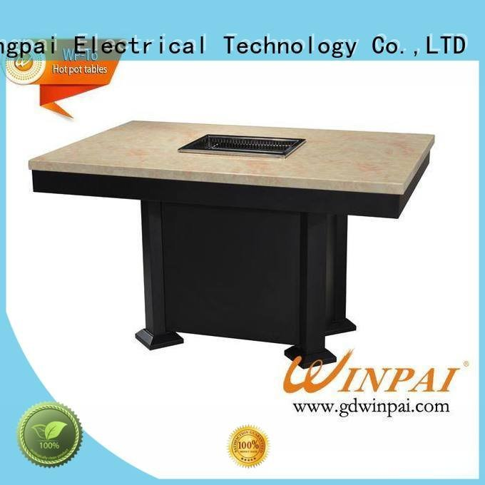 winpai bbq restaurant table CNWINPAI chinese steamboat cooker