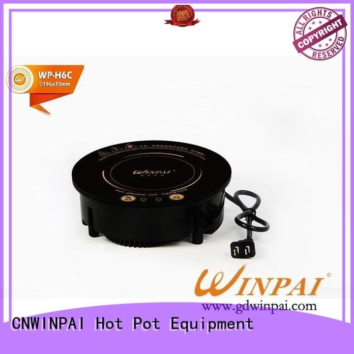 CNWINPAI highpower frying copper stock pot