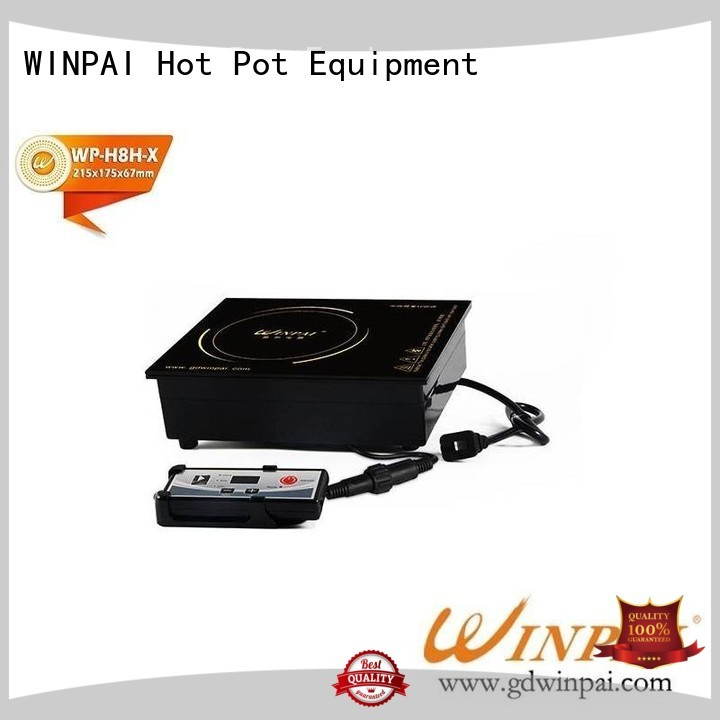WINPAI square latest induction hobs manufacturer for indoor