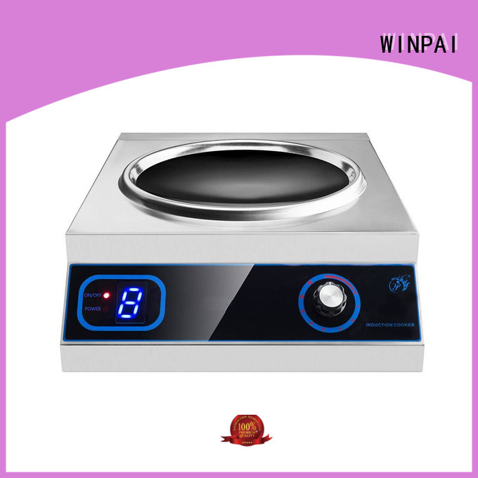 WINPAI high efficiency induction top electric range factory for villa