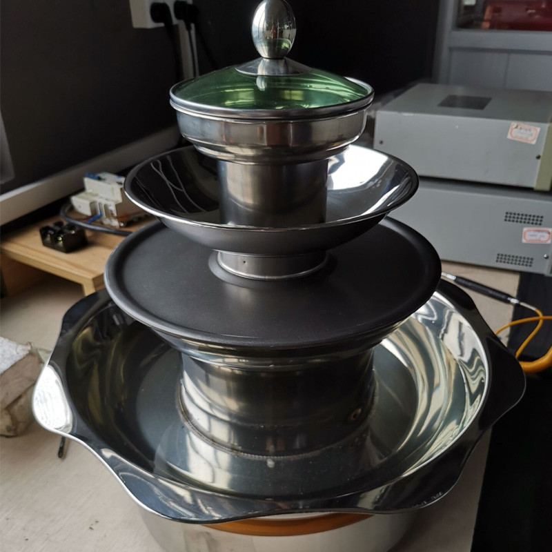 hot pot- bbq -keep warm-steam 4 in one pot with cooker