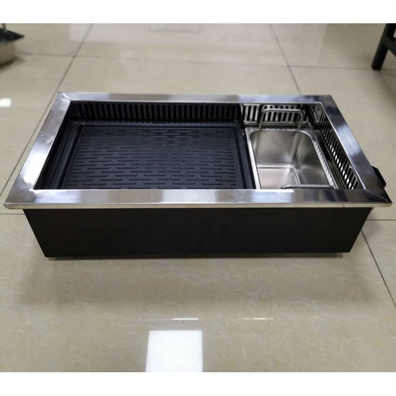 cnwinpai electric hot pot and grill cooker
