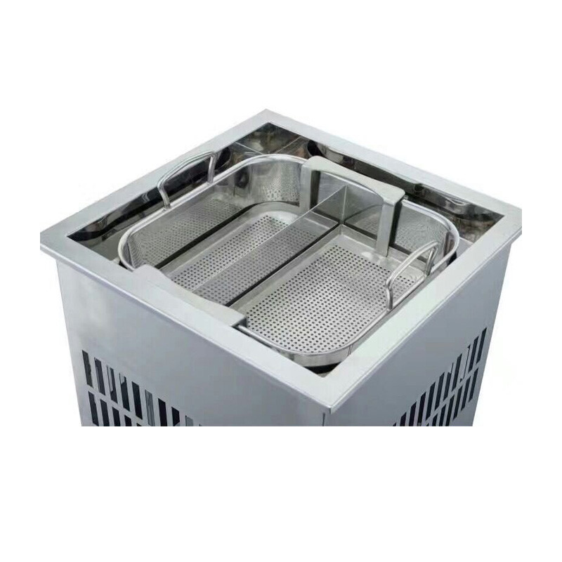 CNWinpai Auto-lift Hot Pot-Smokeless hot pot table