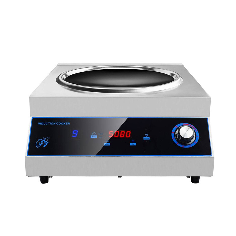 New model restaurant equipment induction wok cooker