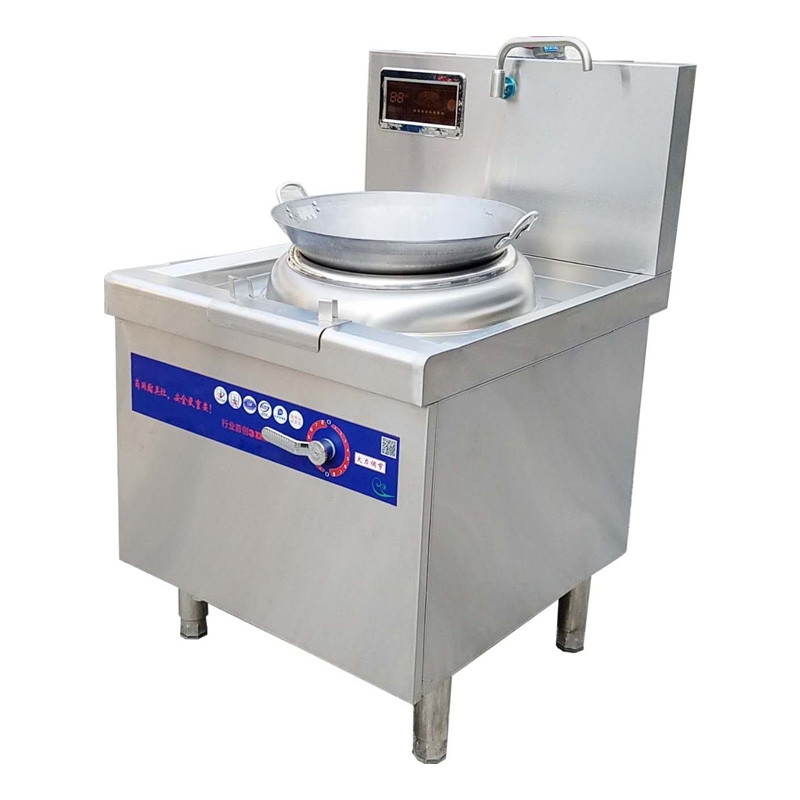 Chinese Commercial Kitchen Equipment Free-standing Electrical Wok Cooker