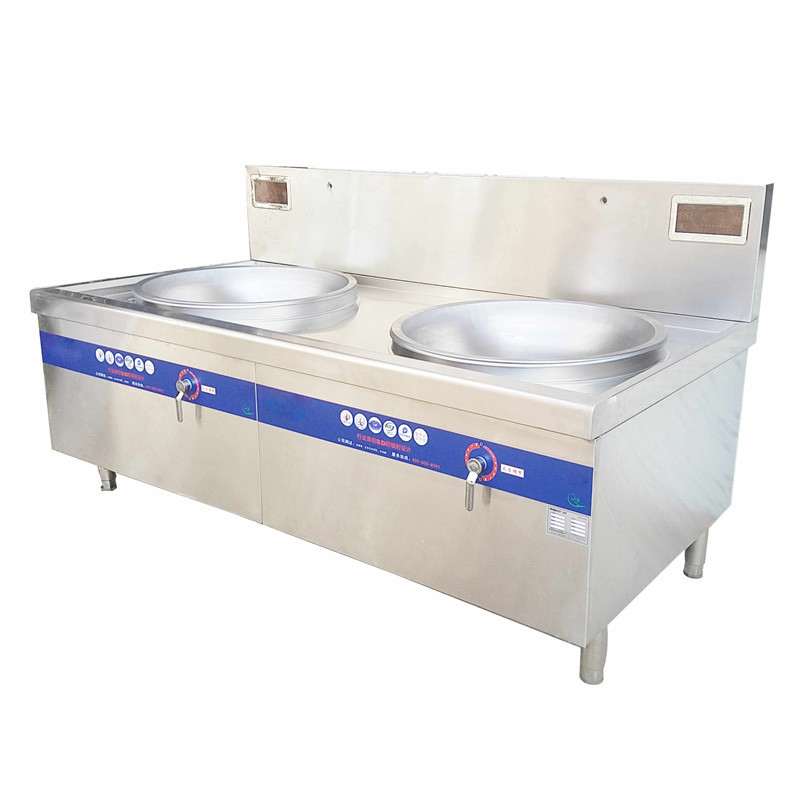 Commercial Double-Head Induction Cooker