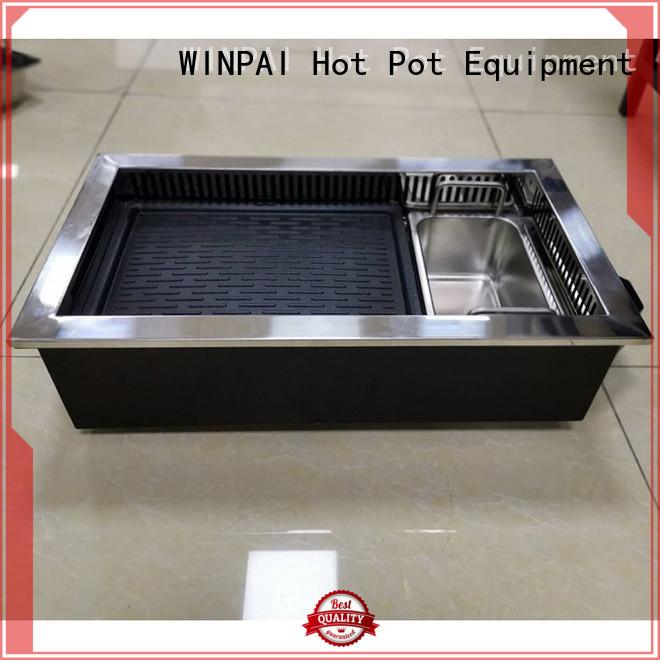 WINPAI smokeless hot-pot equipment list factory for cafe