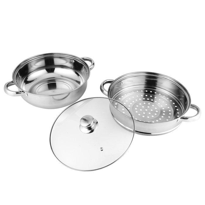 WINPAI Stainless Steel hot pot steamer