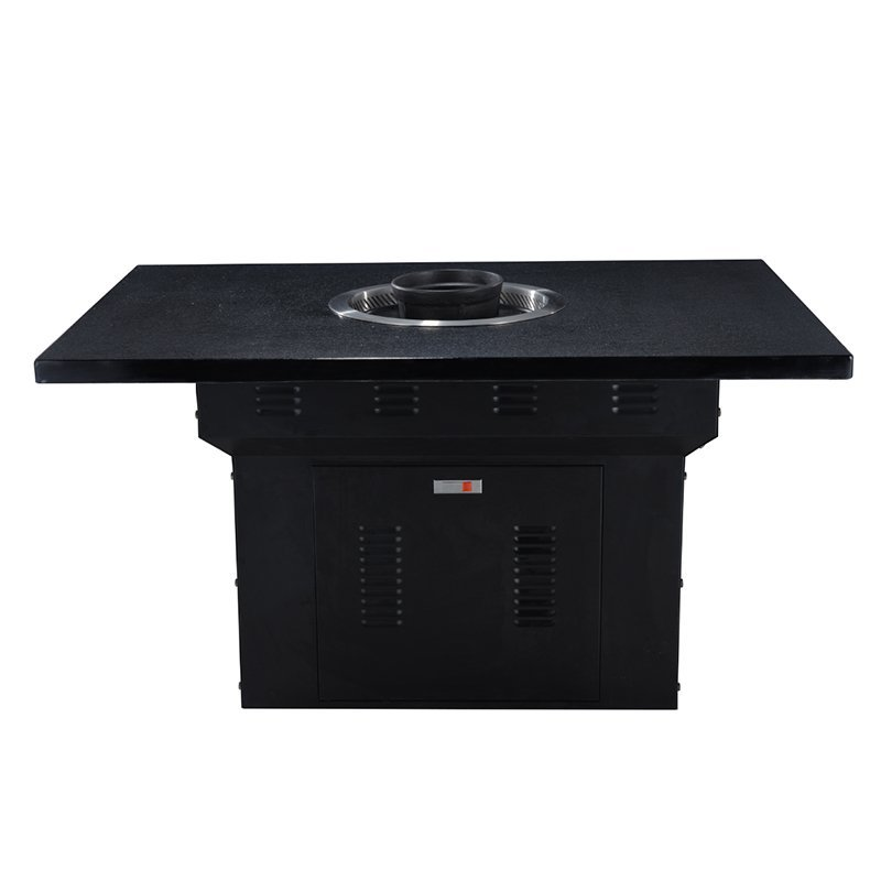 Hot Pot And BBQ Grill Table For Sale-Winpai