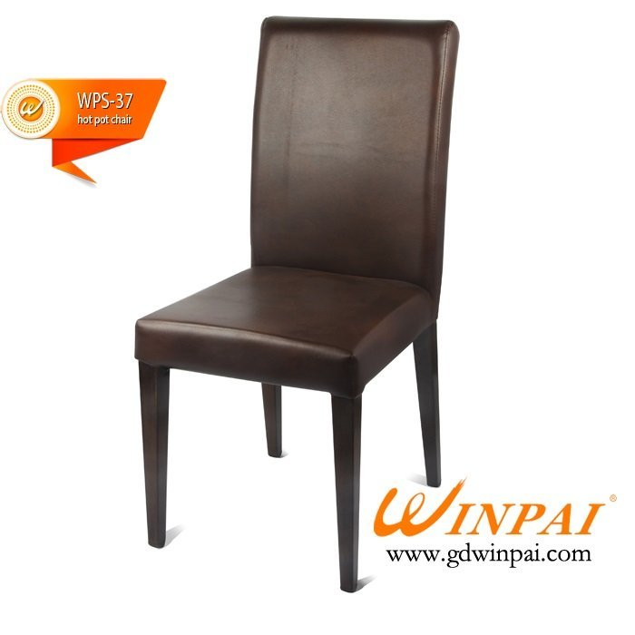 Hot sale hot pot chair,steel banquet chair, restaurant chair,party chair-WINPAI