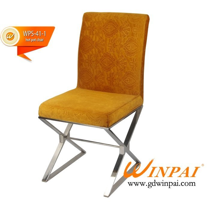 China Hotpot Restaurant Chair, Hot pot Chair, Banquet Table supplier-WINPAI