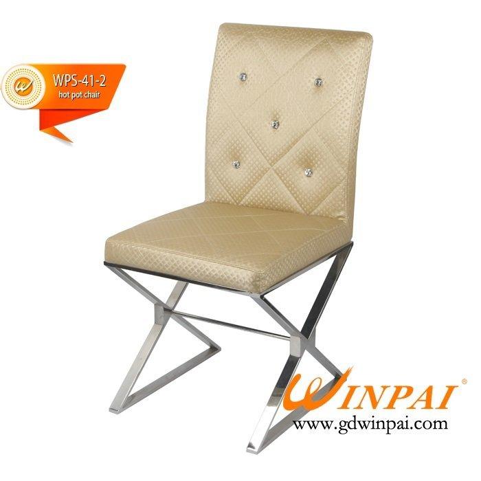 2015 Restaurant Chair,Hot pot Chair,Banquet Table supplier-WINPAI