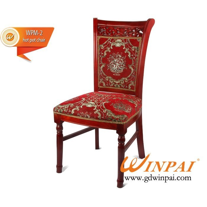 2015 Best quality wooden hot pot chair,dining chair OEM-WINPAI