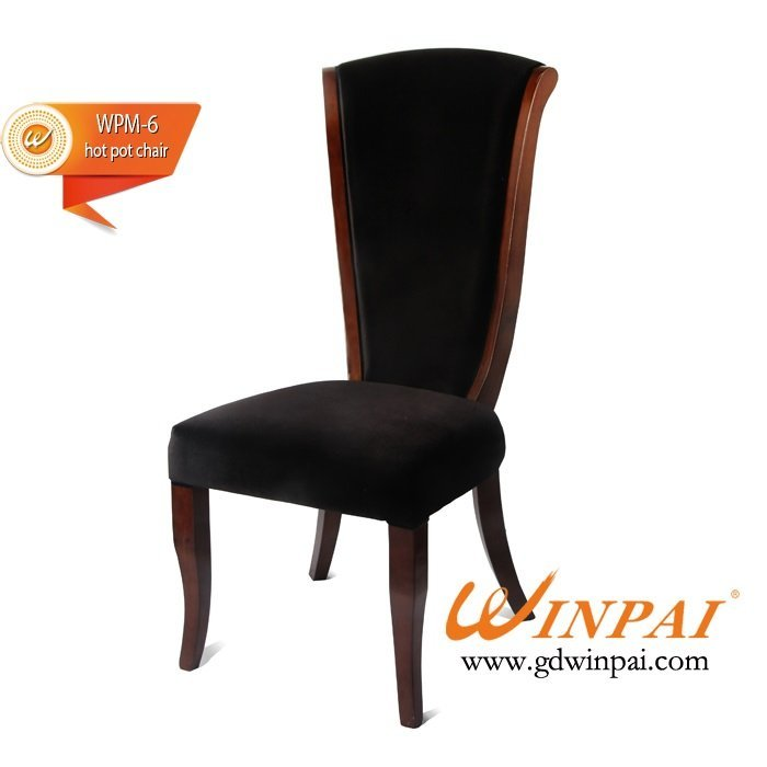 High-end wooden hot pot chairs,hotel chairs,restaurant dining chairs-WINPAI