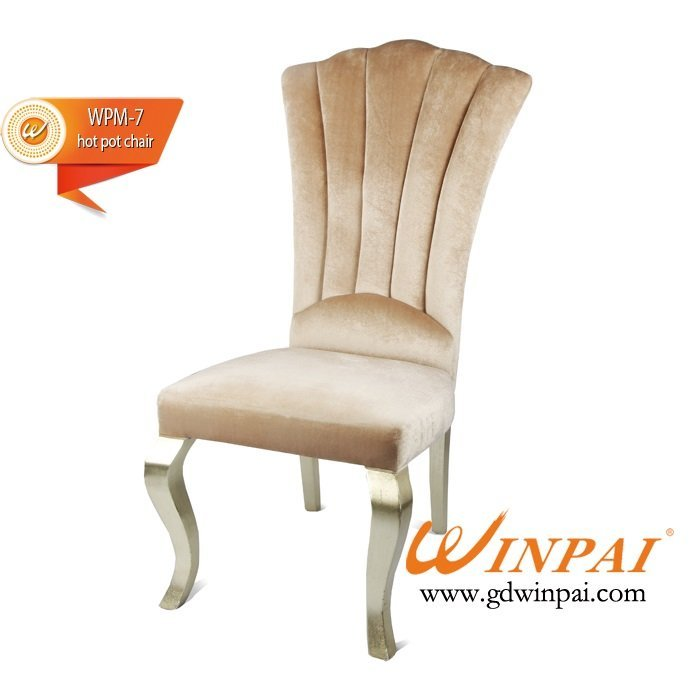 WINPAI High-end wooden hotel chairs,restaurant dining chairs,hot pot chairs