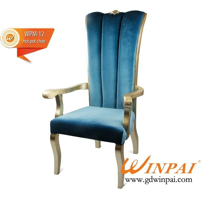 Elegant dining chair,hotel,restaurant,banquet chair-WINPAI