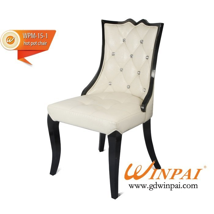 Modern style dining chair,wooden chair produced by WINPAI