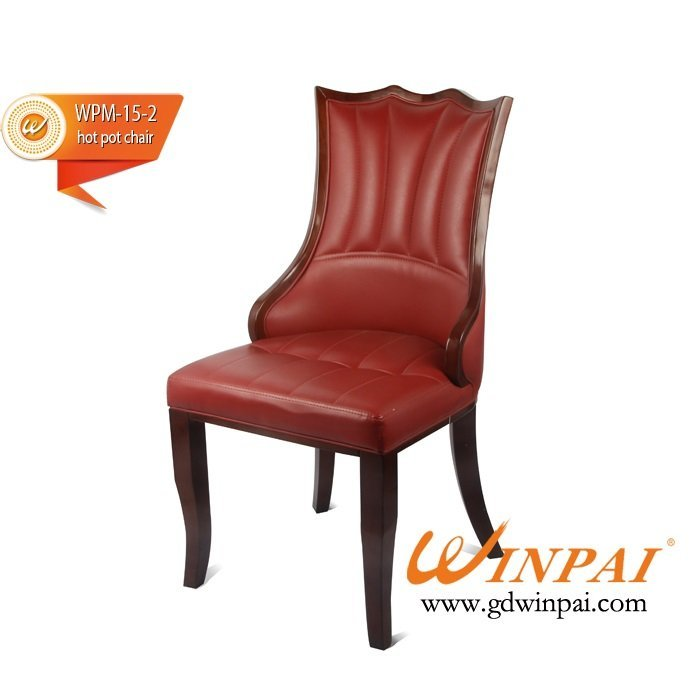 WINPAI Modern dining chair,wooden chair produced in Shunde,Foshan