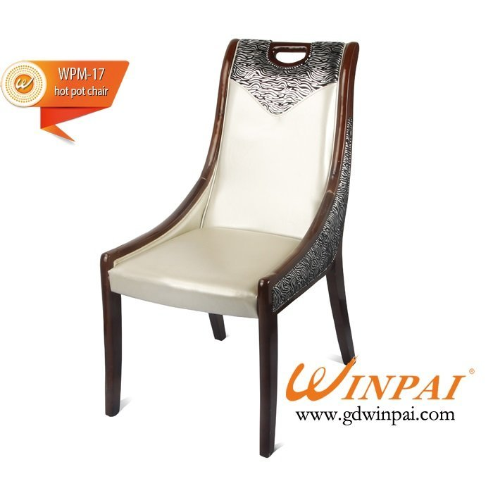 2015 WINPAI dining chair,hotel chair,hot pot chair ( PU covered)