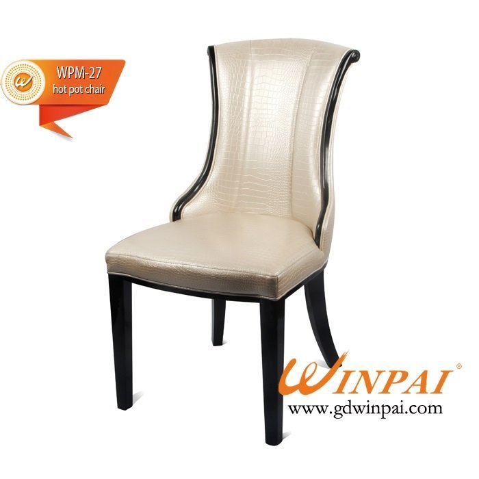 North America Markets dining chair,hotel chair,hot pot chair ( PU covered)-WINPAI
