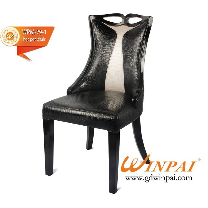 safety wood seat chair pot manufacturer for dinning room