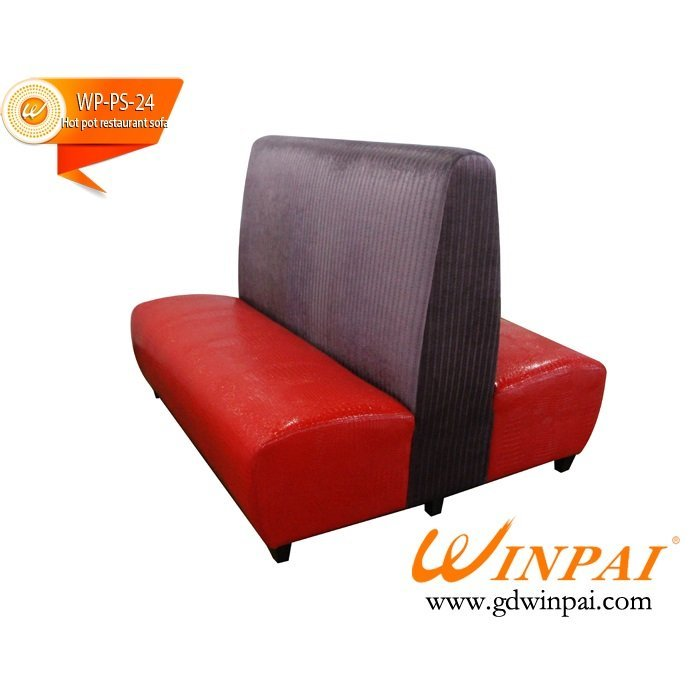 2015 New style Hot pot restaurant sofa OEM-WINPAI