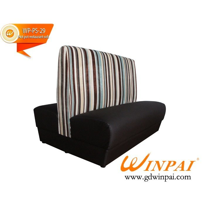 High quality leather sofa used in hotel,hot pot restaurant,KTV,bar-WINPAI