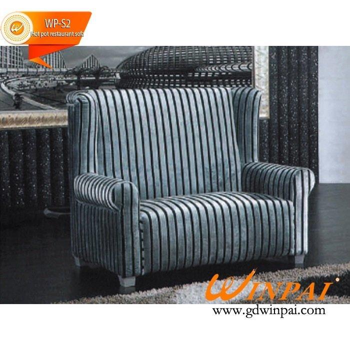 WINPAI Deck restaurant sofa ,cafe restaurant sofa, hot pot restaurant sofa ,hotel sofa ,KTV sofa