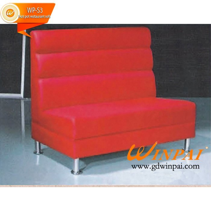 Fast food restaurant sofa, Coffee department store sofa,hot pot sofa ODM-WINPAI