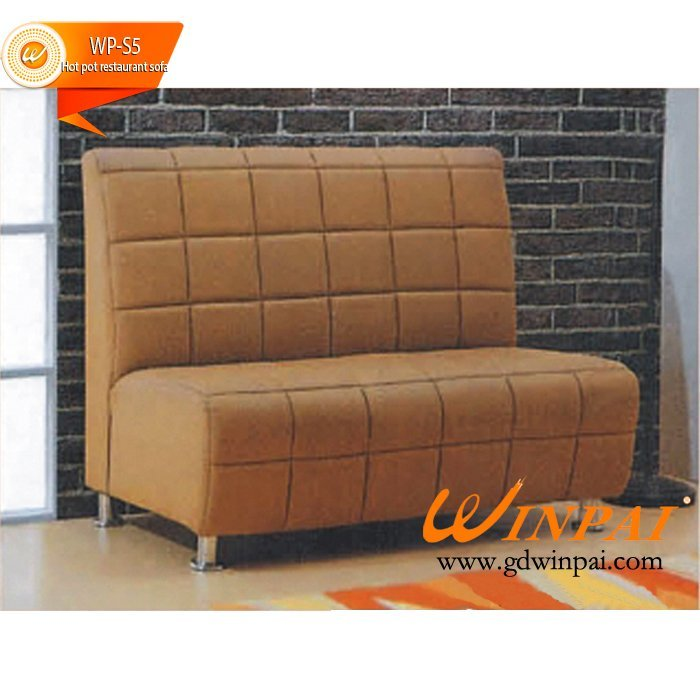 Custom Coffee hall restaurant sofa,Hot pot shop sofa and hotel sofa-WINPAI