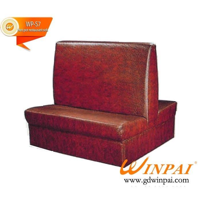 The hotel bench,restaurant deck sof, KTV sofa-WINPAI