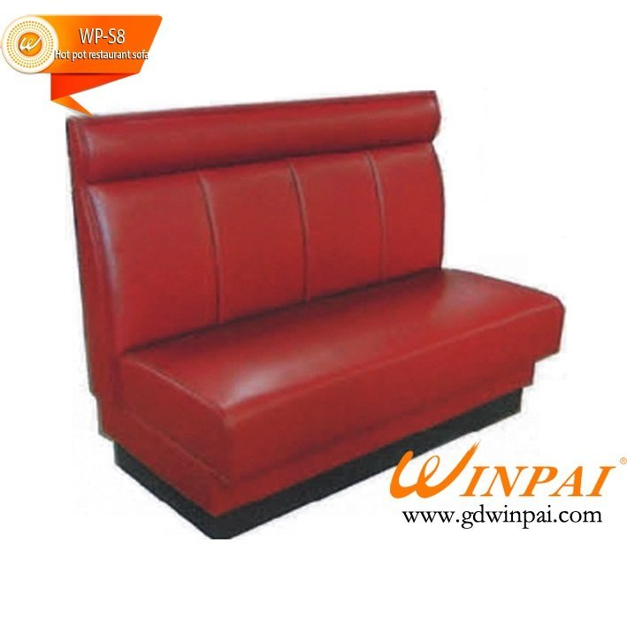 Good desigh hotel restaurant bench, cafe deck sofa of WINPAI