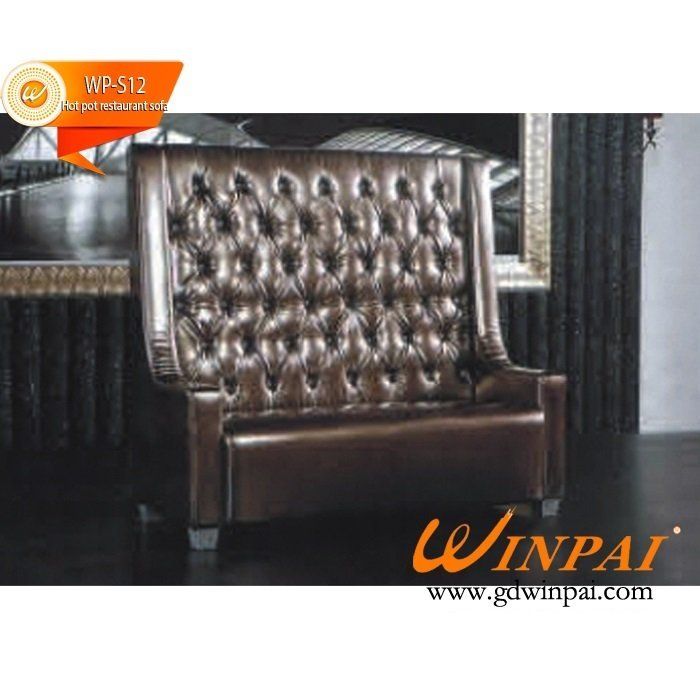 Bar and restaurant bench and sofa seating design-WINPAI