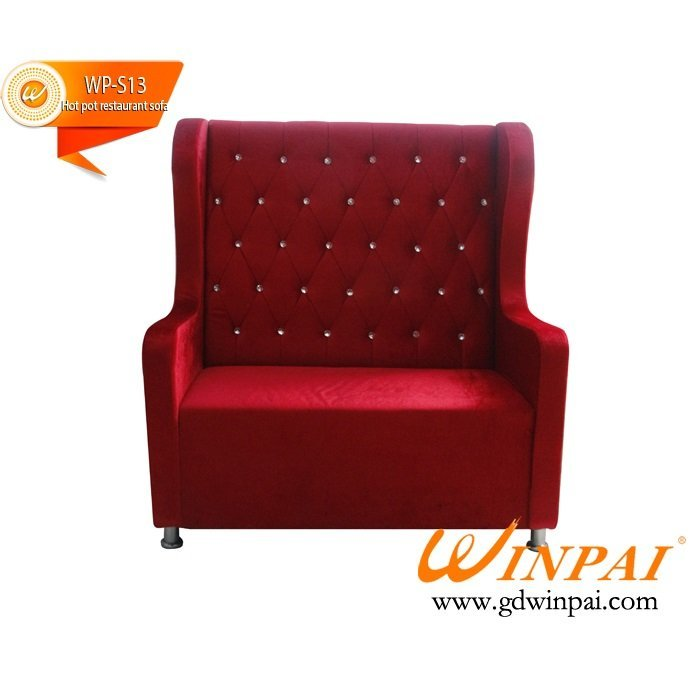 WINPAI dining booth seating set sofa diner furiture