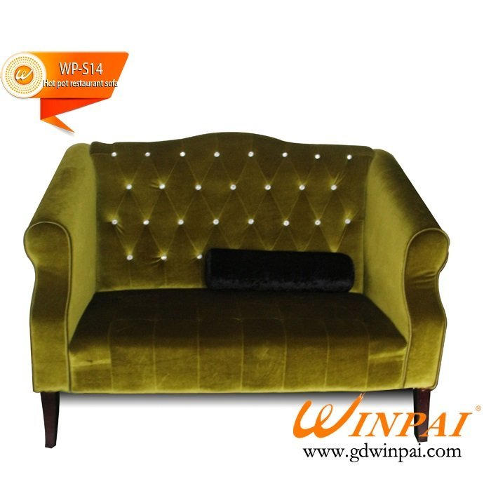 Custom made booth  seating sofa for bar club banquet KTV-WINPAI