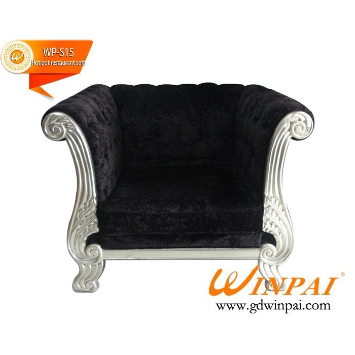 European-style cafe restaurant hot pot deck sofa-WINPAI