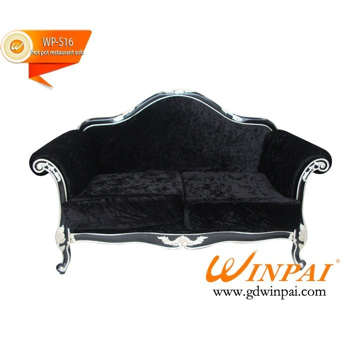 Customized european-style hotel hot pot  restaurant bench and sofa-WINPAI