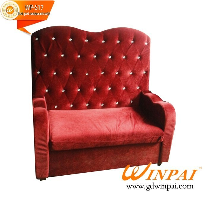 Upscale restaurant, cafe, bar deck hot pot sofa-WINPAI