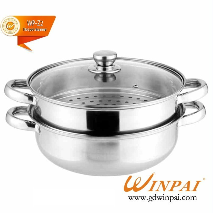 WINPAI Stainless Steel hot pot steamer