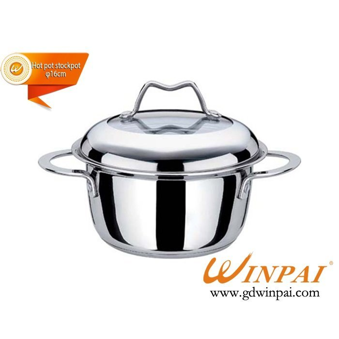 Chinese hot pot stock pot-WINPAI Wong Po-pot