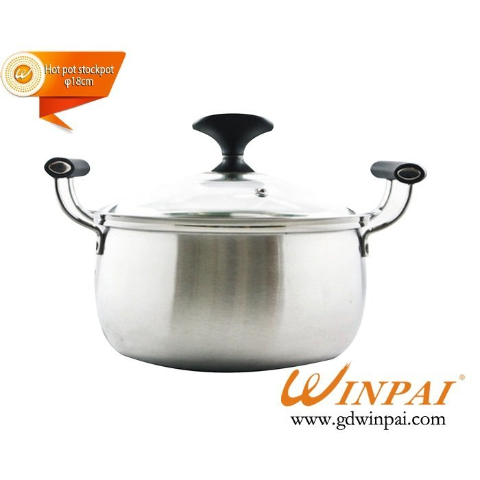 Luxurious Single drum hot pot stockpot,soup pot-WINPAI