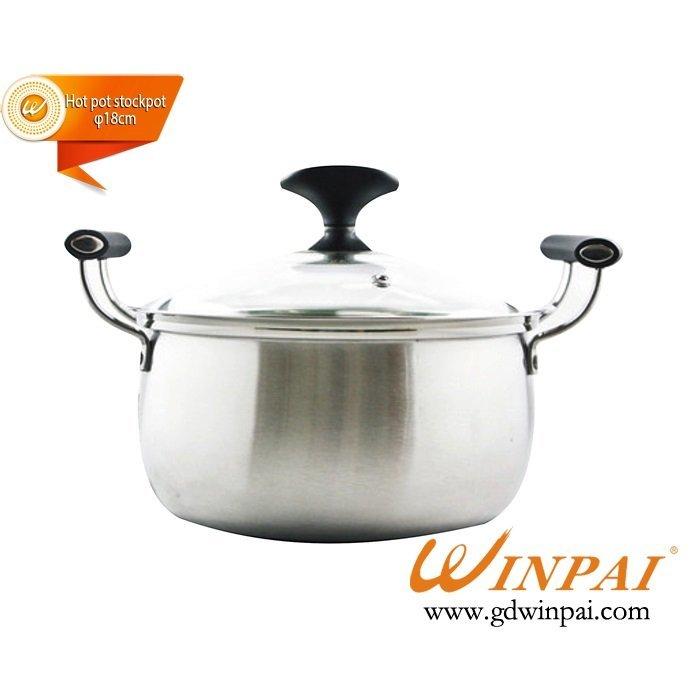 Luxurious Single drum hot pot stockpot,soup pot-WINPAI