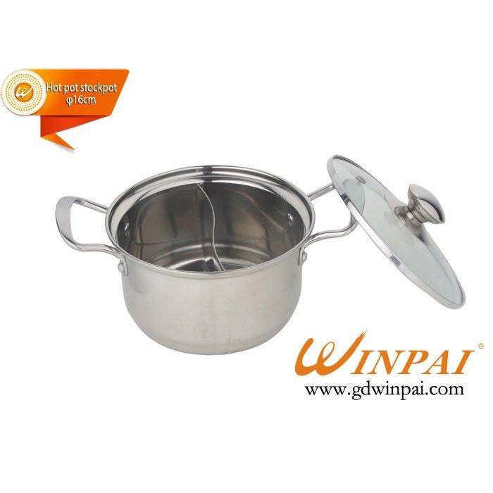 2015 Single small duck pot,hot pot stockpot-WINPAI