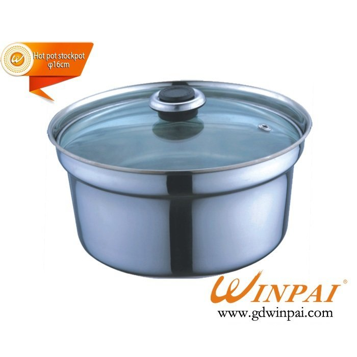 One person one stockpot,thickening stainless steel soup pot-WINPAI