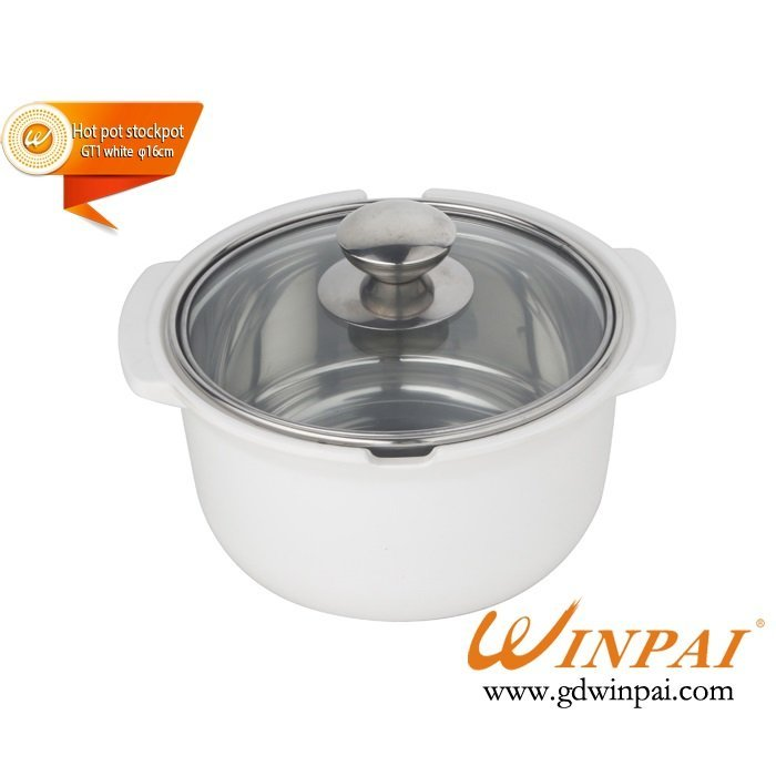 Small hot sales pot shabu-shabu hot pot stockpot-WINPAI