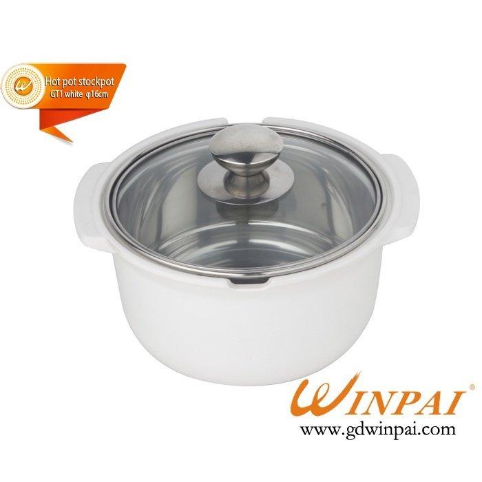 Small hot sales pot shabu-shabu hot pot stockpot-WINPAI