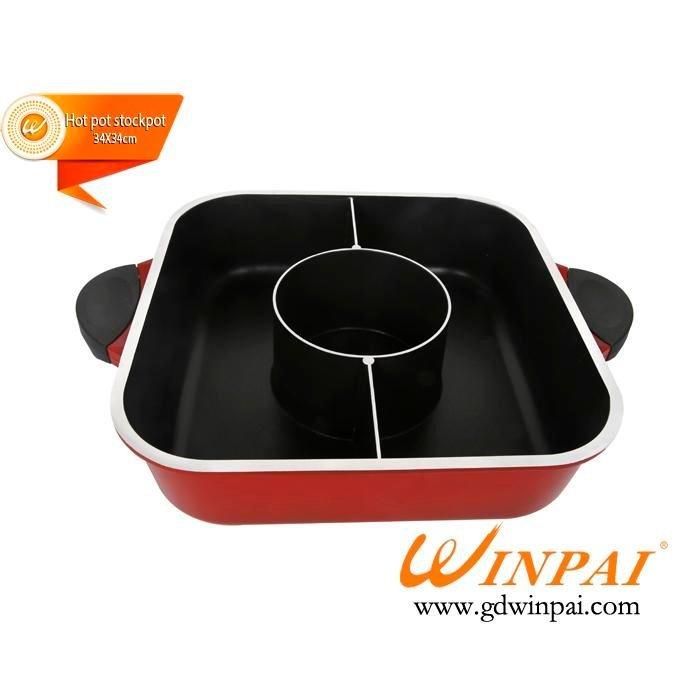 Wholesale anti Restaurant Hot Pot Table steel CNWINPAI Brand