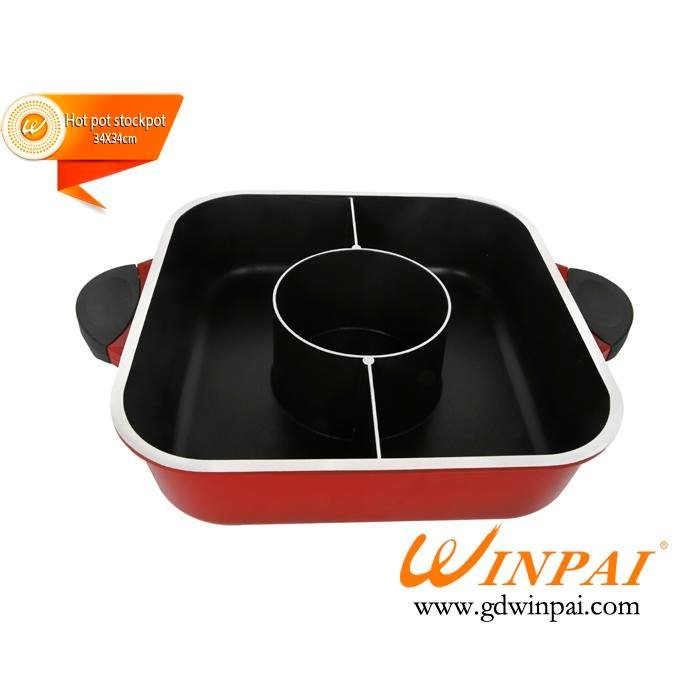 Restaurant Hot Pot Table 328mm korean bbq grill table CNWINPAI Brand
